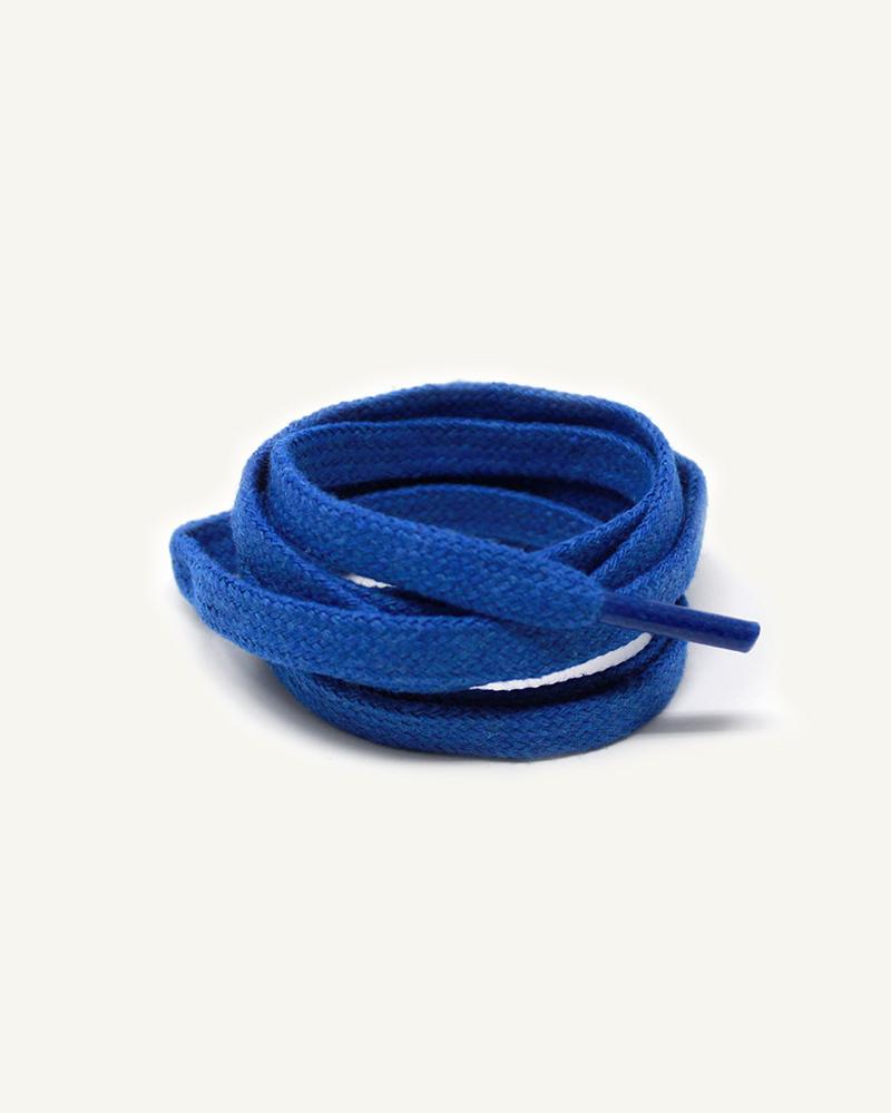 Lacets plats et larges, bleu nasa - 3