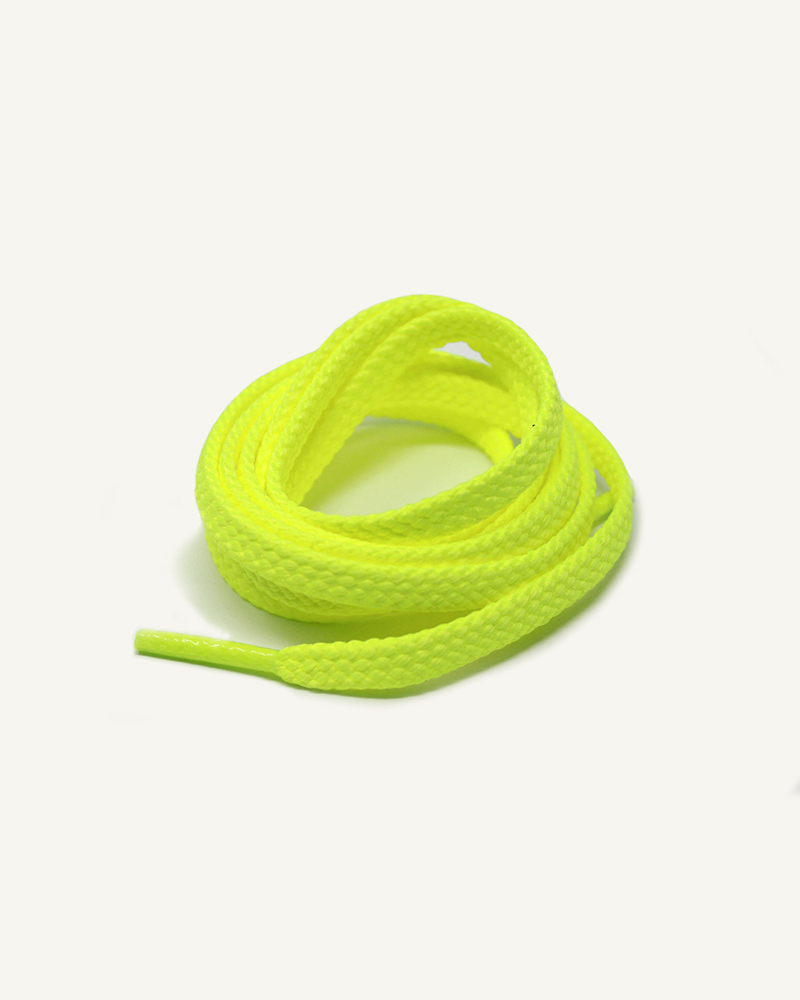 Lacets de sport, jaune pacman - 3