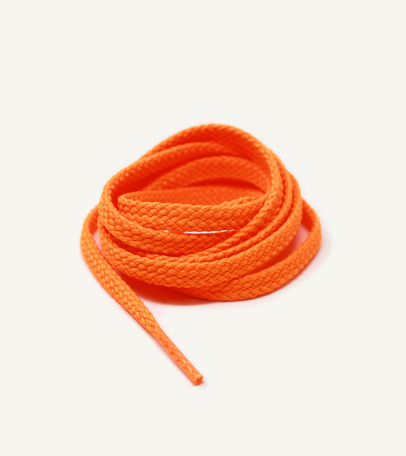 Lacets de sport, orange miami - 3