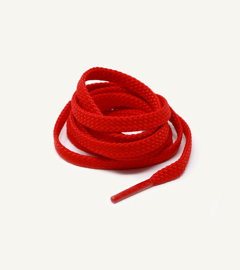 Lacets de sport, rouge ferrari - 3