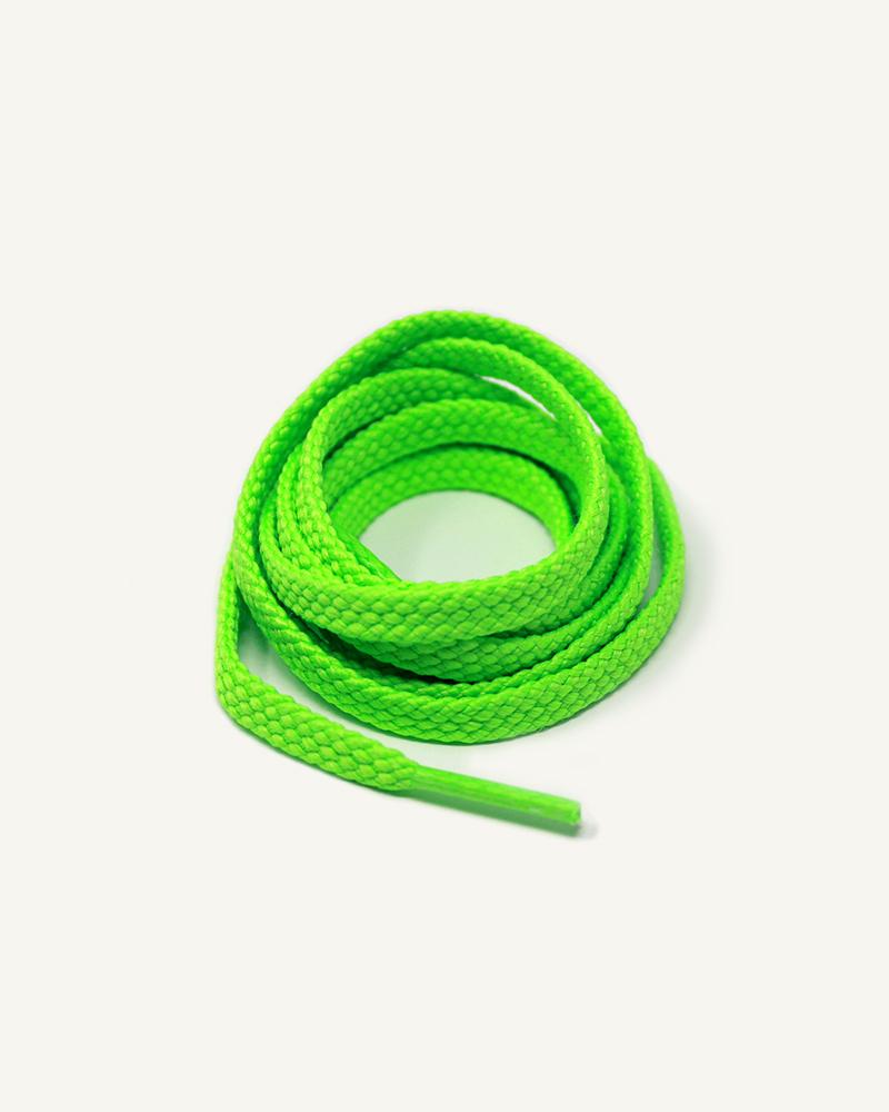 Lacets de sport, vert néon - 3