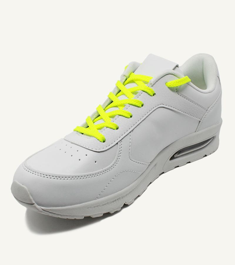 Lacets de sport, jaune pacman - 2