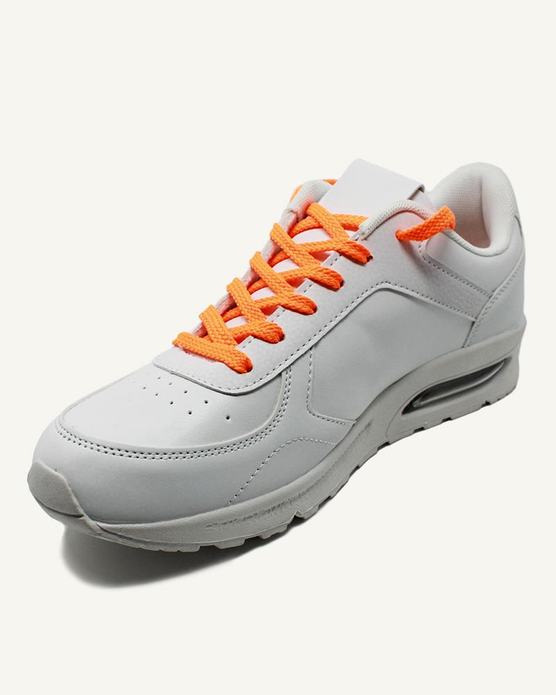 Lacets de sport orange miami - 2