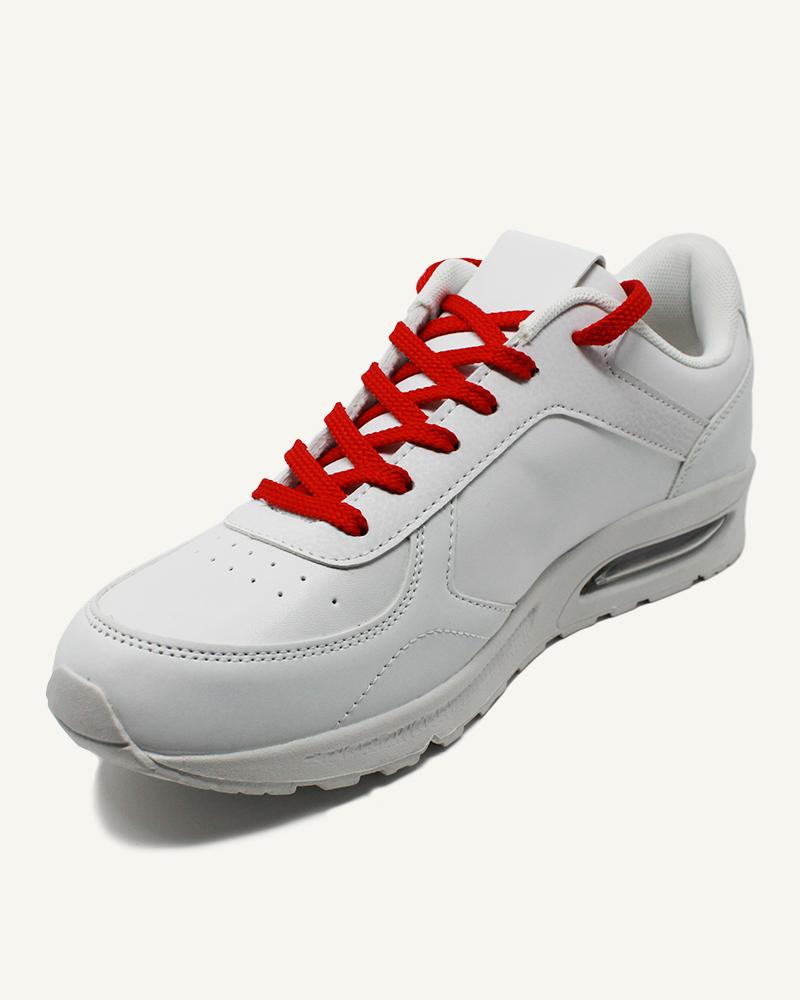 Lacets de sport, rouge ferrari - 2