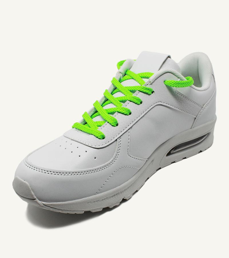 Lacets de sport, vert néon - 2