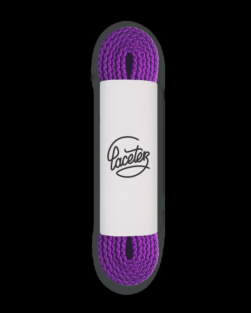 Lacets de sport, violet ultra - 1
