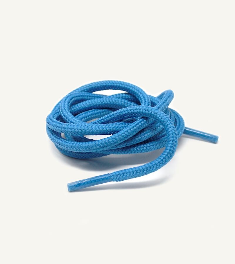 Lacets ronds et épais, bleu neptune - 3