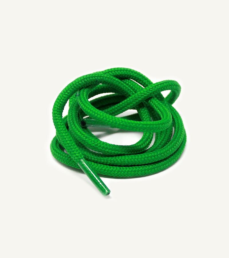 Lacets ronds et épais, vert pastèque - 3
