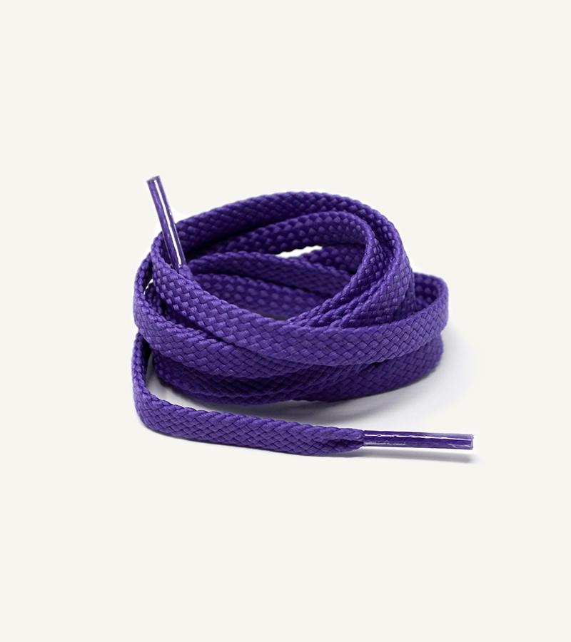 Lacets de sport, violet ultra - 3